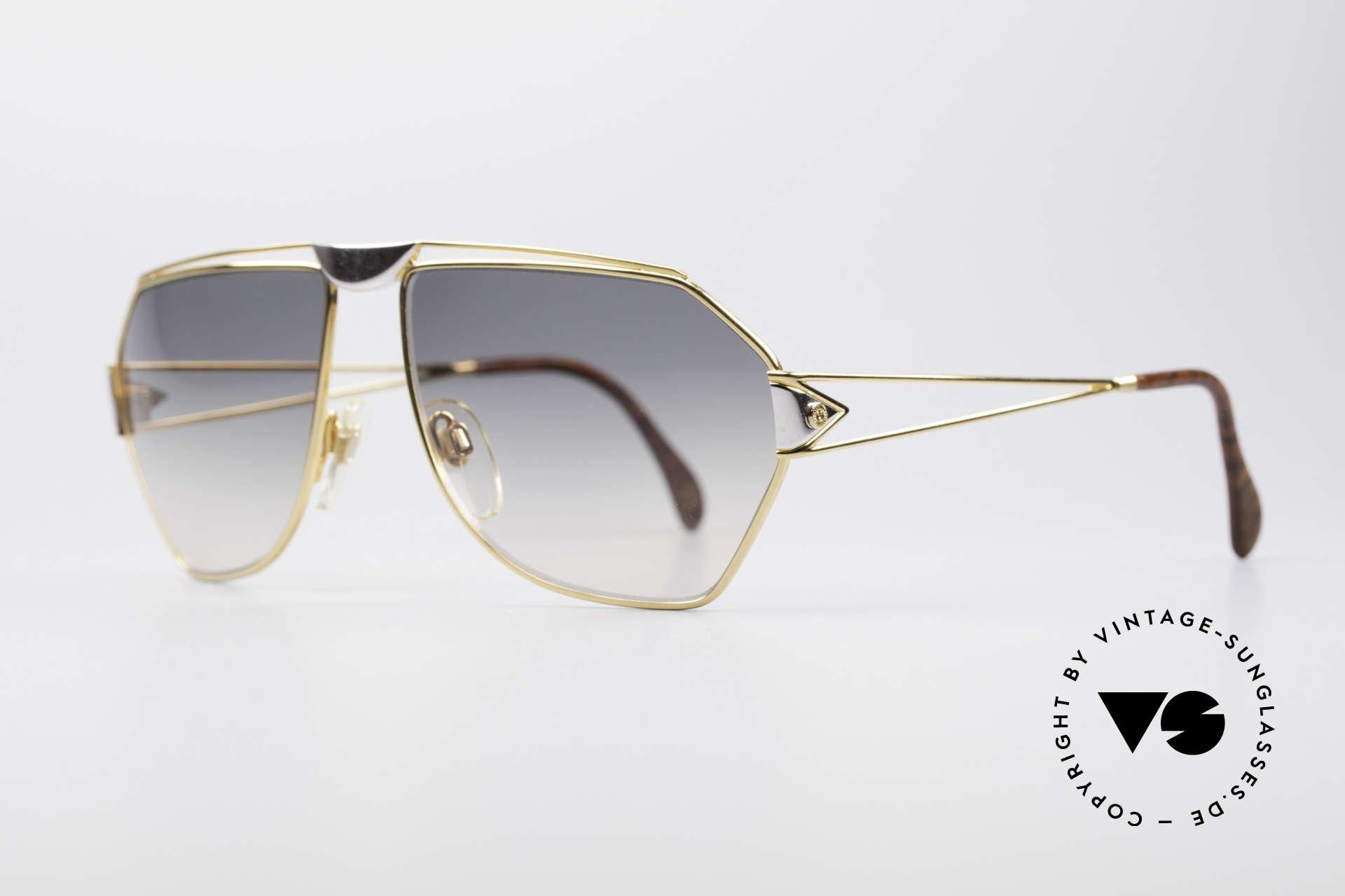St. Moritz 403 80er Jupiter Sonnenbrille, in Kleinstserie produziert: jeder Rahmen ist nummeriert, Passend für Herren