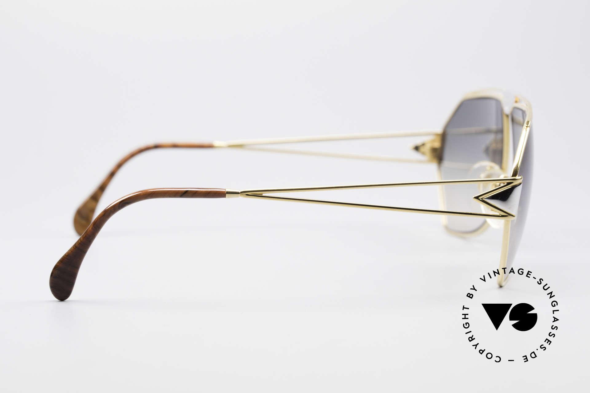 St. Moritz 403 80er Jupiter Sonnenbrille, ungetragen (wie alle unsere seltenen St. Moritz Brillen), Passend für Herren