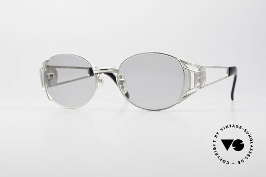 Jean Paul Gaultier 58-6102 Steampunk Vintage Brille Details