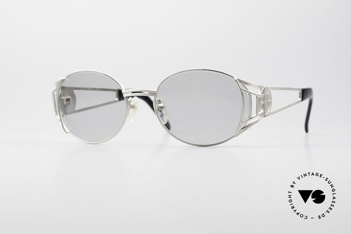 Jean Paul Gaultier 58-6102 Steampunk Vintage Brille, hochwertiges & kreatives Jean Paul Gaultier Design, Passend für Herren und Damen