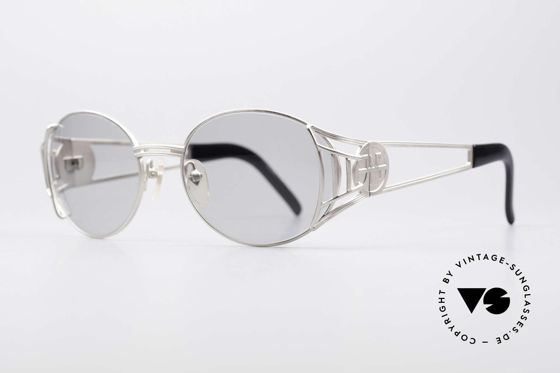"""Jean Paul Gaultier 58-6102 Steampunk Vintage Brille, heutzutage oft als """"STEAMPUNK-Brille"""" bezeichnet, Passend für Herren und Damen"""