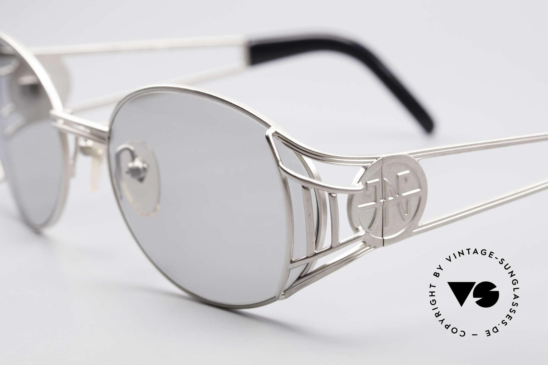 Jean Paul Gaultier 58-6102 Steampunk Vintage Brille, absolute vintage Rarität in fühlbarem Top-Zustand, Passend für Herren und Damen