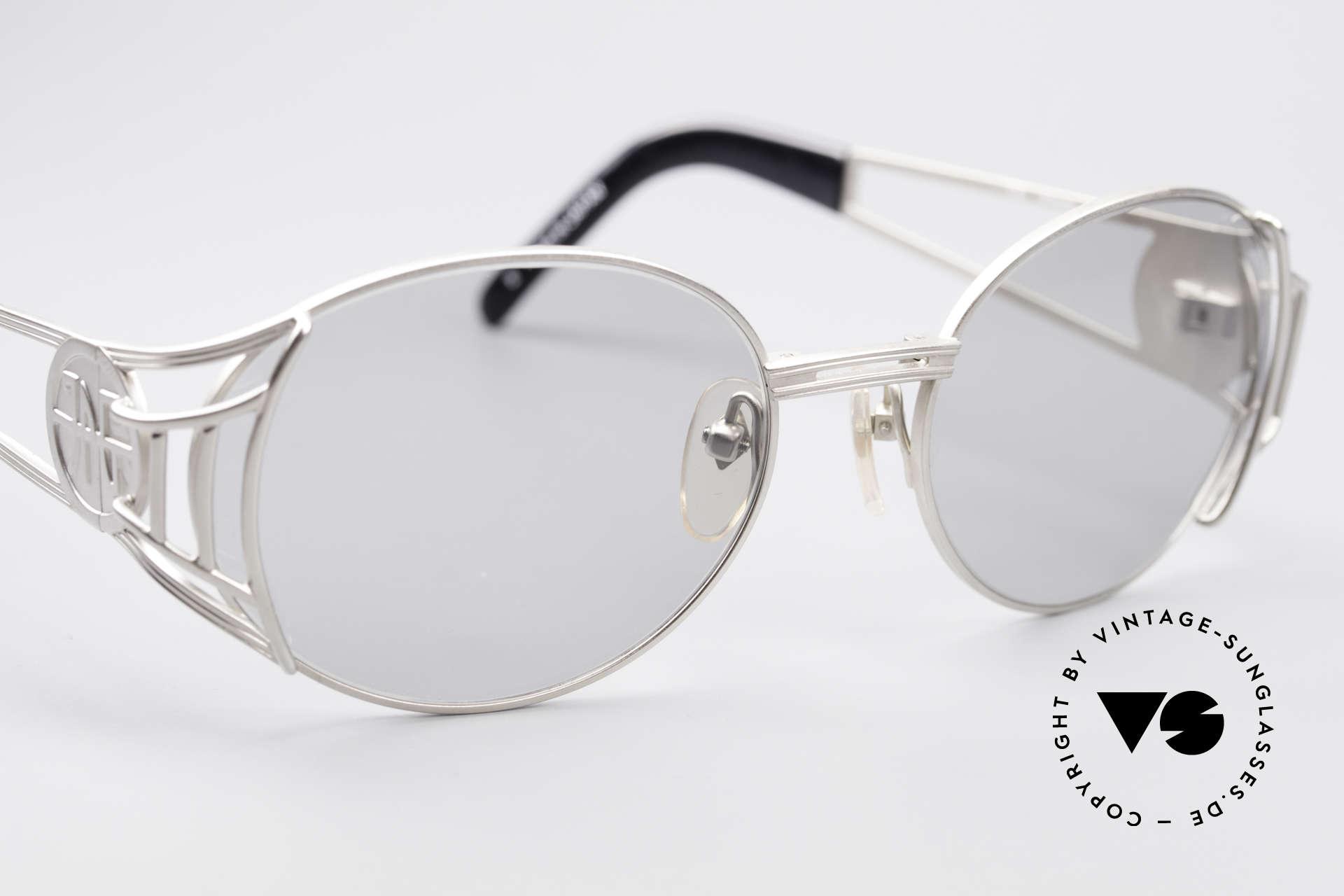Jean Paul Gaultier 58-6102 Steampunk Vintage Brille, KEINE RETROBRILLE; ein 20 Jahre altes ORIGINAL, Passend für Herren und Damen