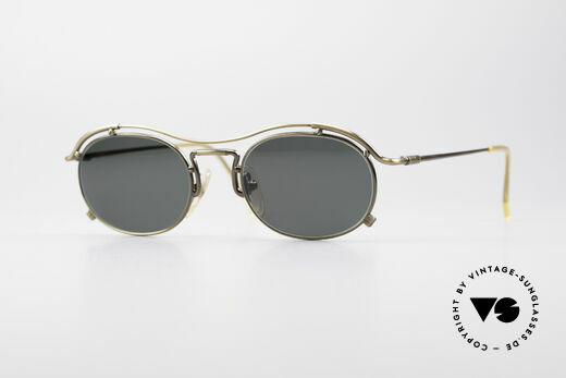 Jean Paul Gaultier 55-2170 No Retro 90er Sonnenbrille Details