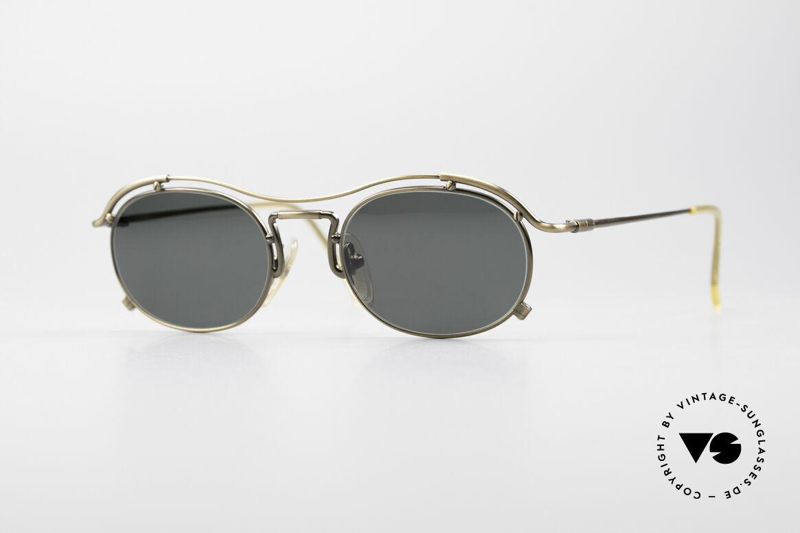 Jean Paul Gaultier 55-2170 No Retro 90er Sonnenbrille, true VINTAGE Jean Paul GAULTIER Designer-Brille, Passend für Herren und Damen