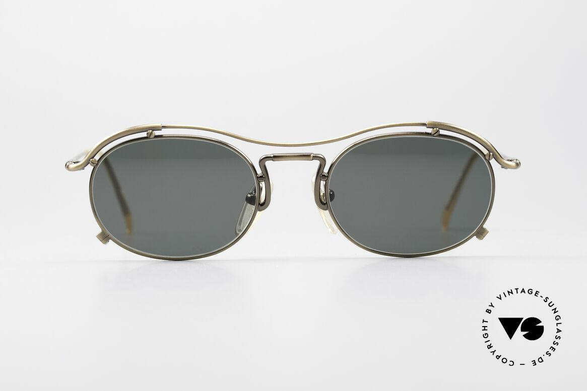 Jean Paul Gaultier 55-2170 No Retro 90er Sonnenbrille, schwungvolle Rahmenkonstruktion; ein Hingucker!, Passend für Herren und Damen