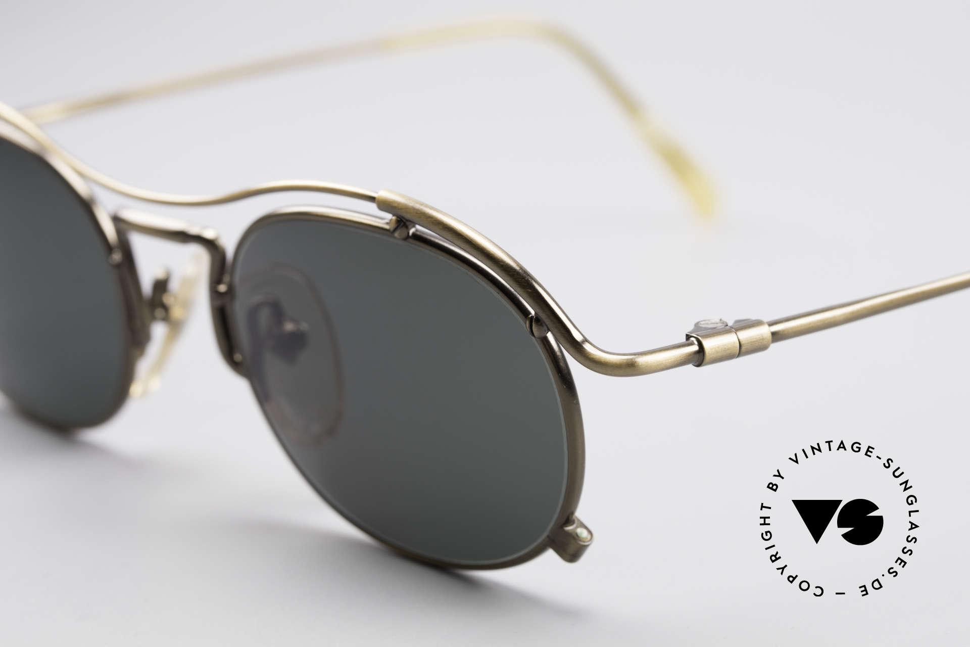 Jean Paul Gaultier 55-2170 No Retro 90er Sonnenbrille, außergewöhnliche Spitzen-Qualität; made in Japan, Passend für Herren und Damen