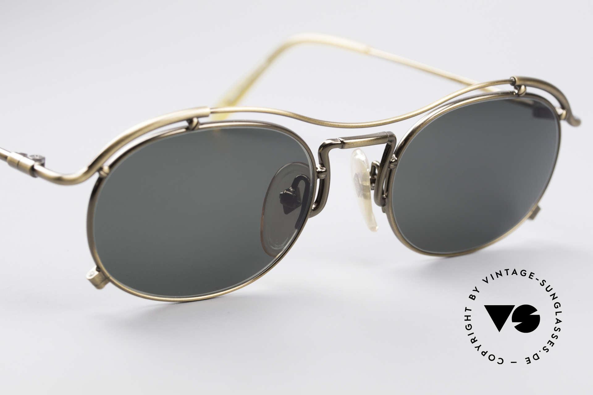 Jean Paul Gaultier 55-2170 No Retro 90er Sonnenbrille, ungetragen; wie alle unsere 90er JPG Sonnenbrillen, Passend für Herren und Damen