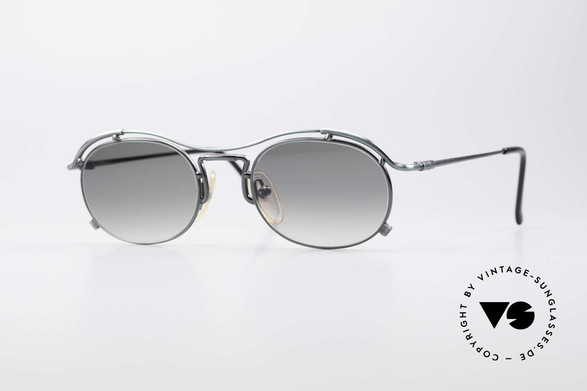 Jean Paul Gaultier 55-2170 Vintage 90er Sonnenbrille, true VINTAGE Jean Paul GAULTIER Designer-Brille, Passend für Herren und Damen