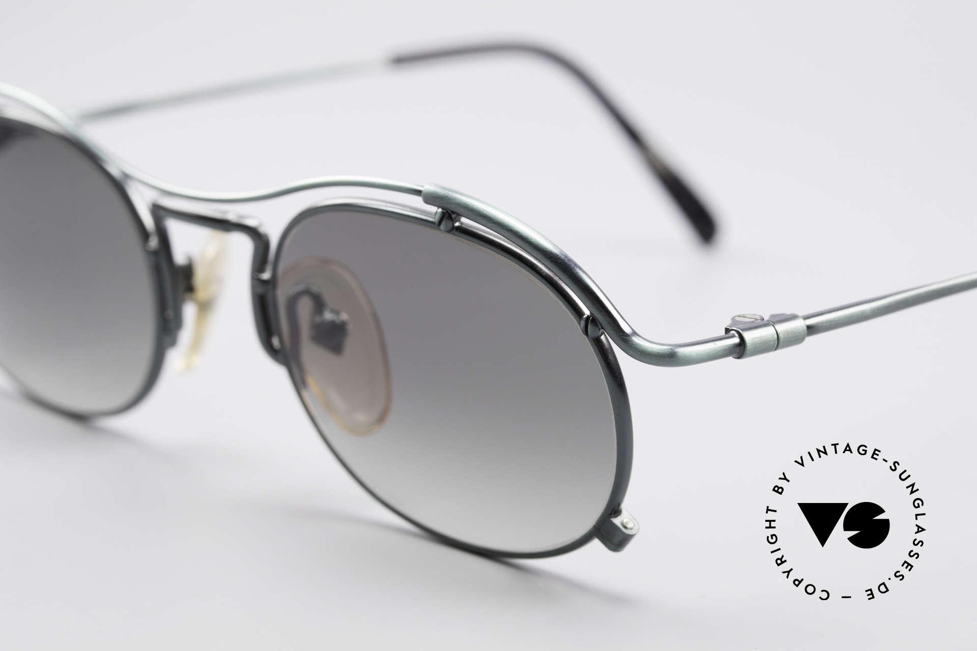 Jean Paul Gaultier 55-2170 Vintage 90er Sonnenbrille, außergewöhnliche Spitzen-Qualität; made in Japan, Passend für Herren und Damen