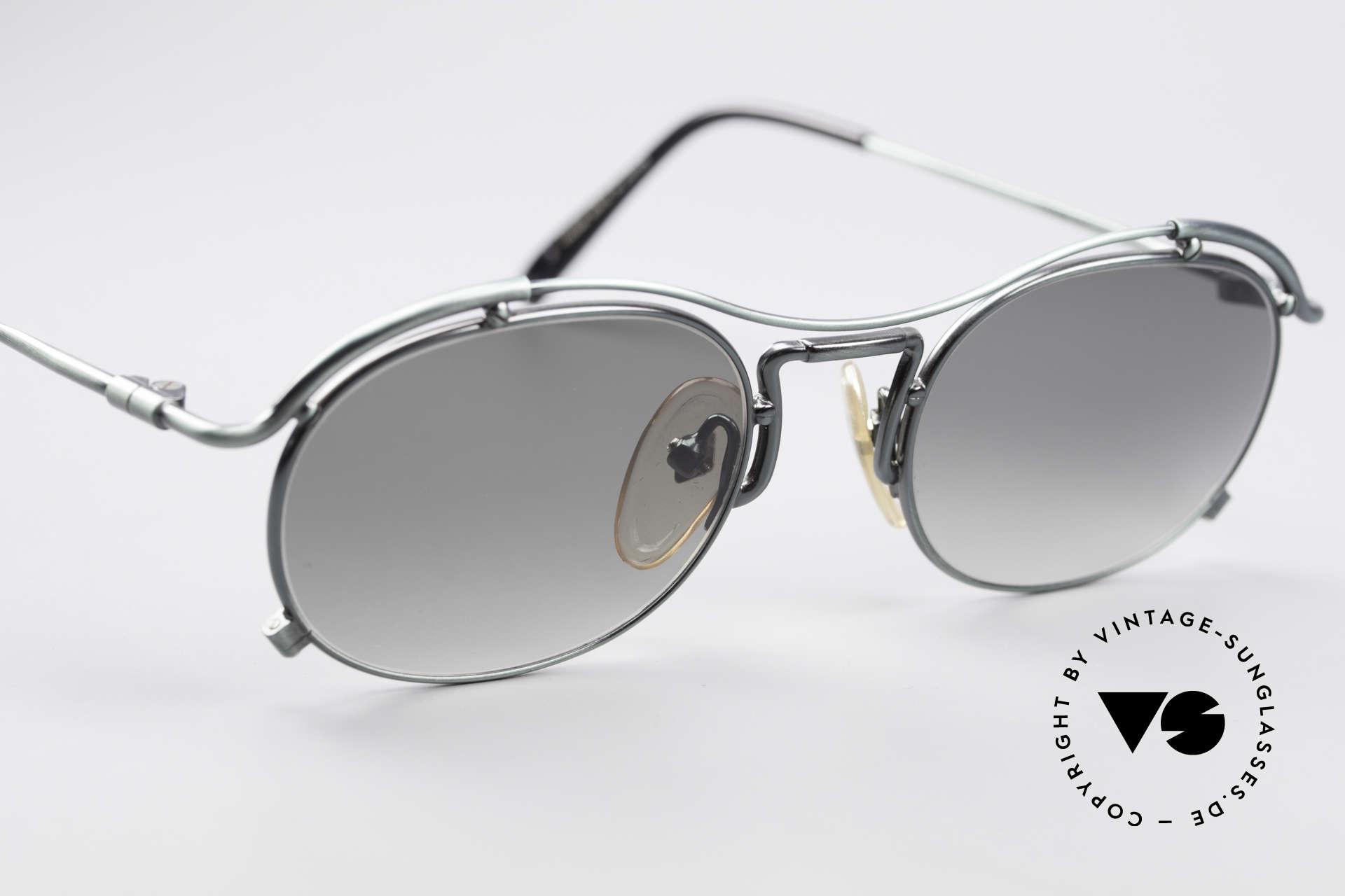 Jean Paul Gaultier 55-2170 Vintage 90er Sonnenbrille, ungetragen; wie alle unsere 90er JPG Sonnenbrillen, Passend für Herren und Damen
