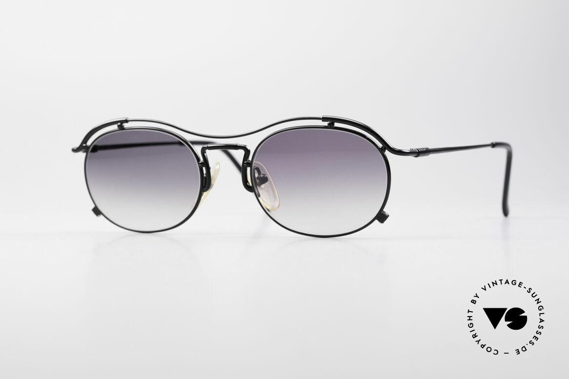 Jean Paul Gaultier 55-2170 Vintage JPG Sonnenbrille, true VINTAGE Jean Paul GAULTIER Designer-Brille, Passend für Herren und Damen