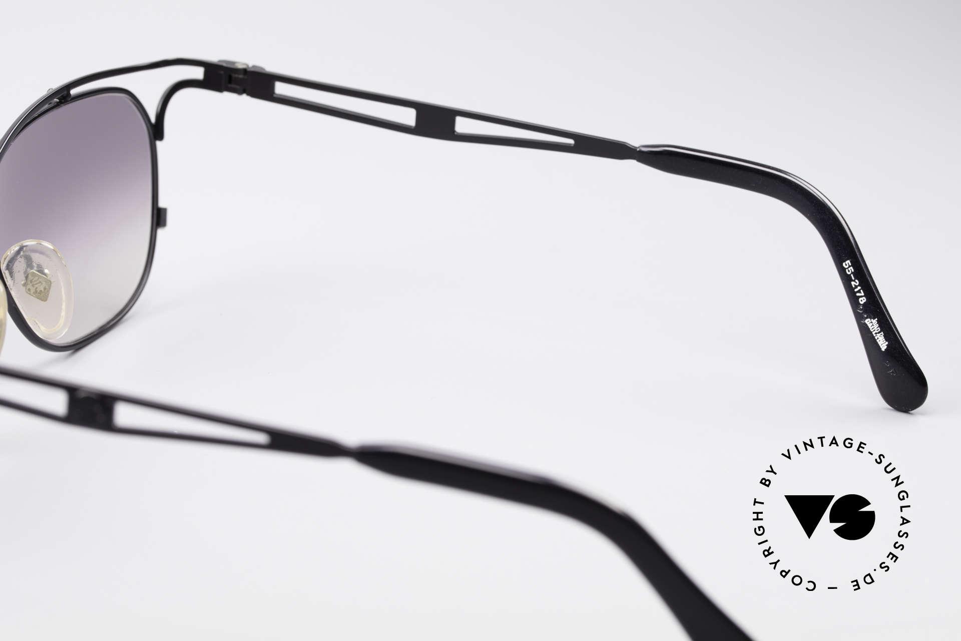Jean Paul Gaultier 55-2178 No Retro JPG Designerbrille, die Fassung könnte auch optisch verglast werden, Passend für Herren und Damen