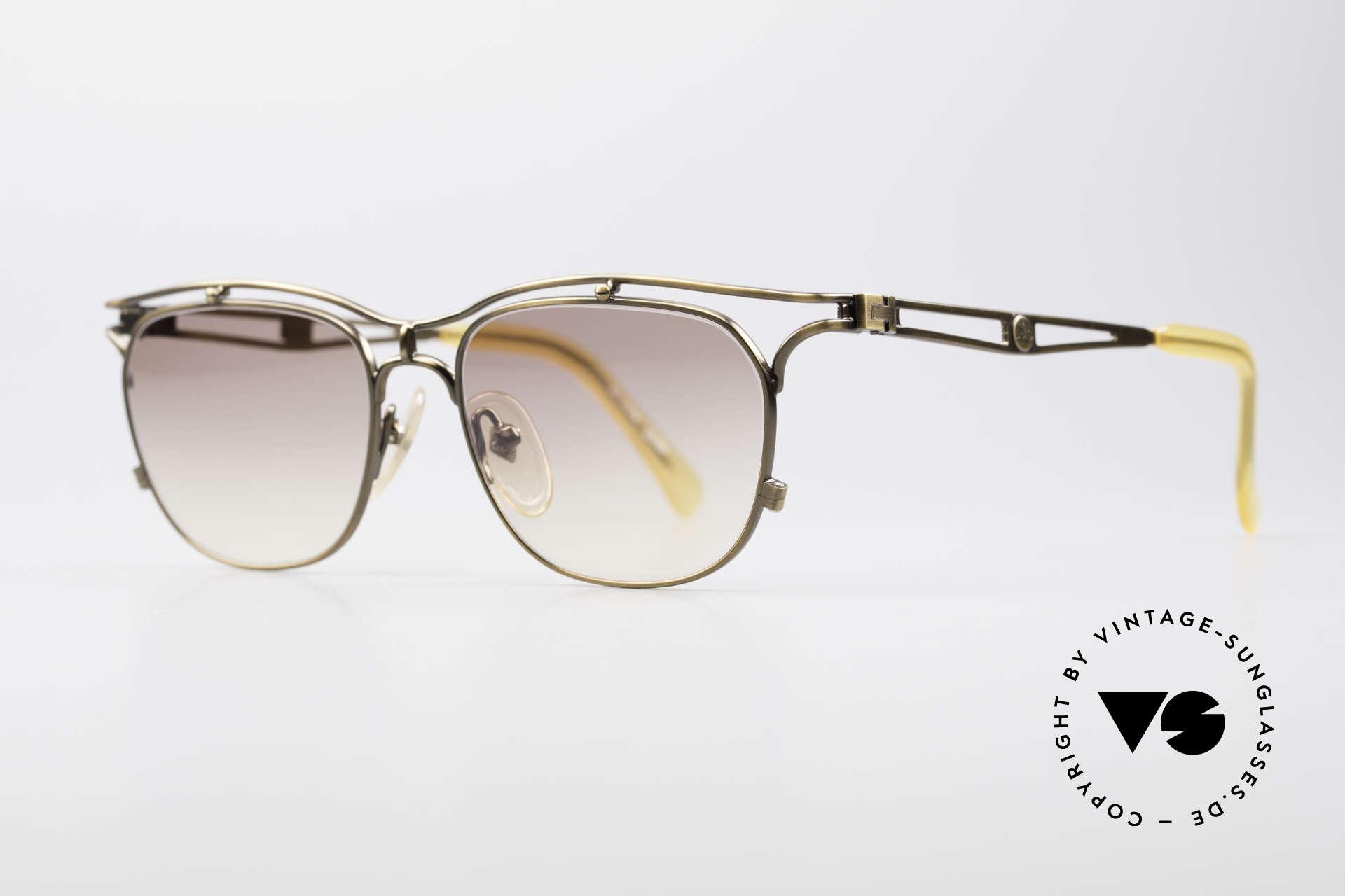 """Jean Paul Gaultier 55-2178 Vintage JPG Designerbrille, JPG Farbe: """"smoke gold"""","""" burnt gold"""", """"antik gold"""", Passend für Herren und Damen"""