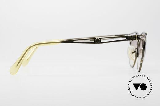 Jean Paul Gaultier 55-2178 Vintage JPG Designerbrille, die Fassung könnte auch optisch verglast werden, Passend für Herren und Damen