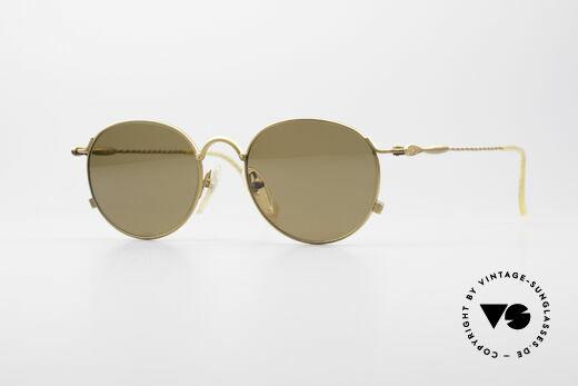 Jean Paul Gaultier 55-2172 Runde Vintage Sonnenbrille Details