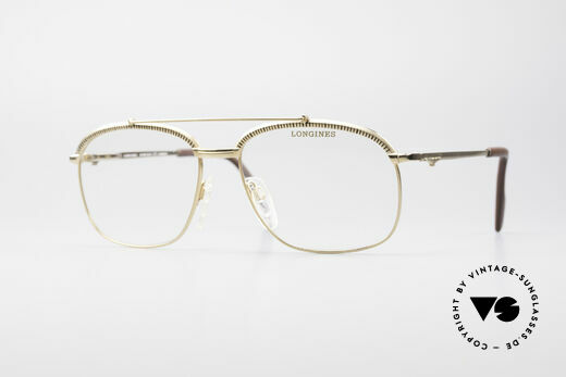 Longines 0172 80er Luxus Brillenfassung Details