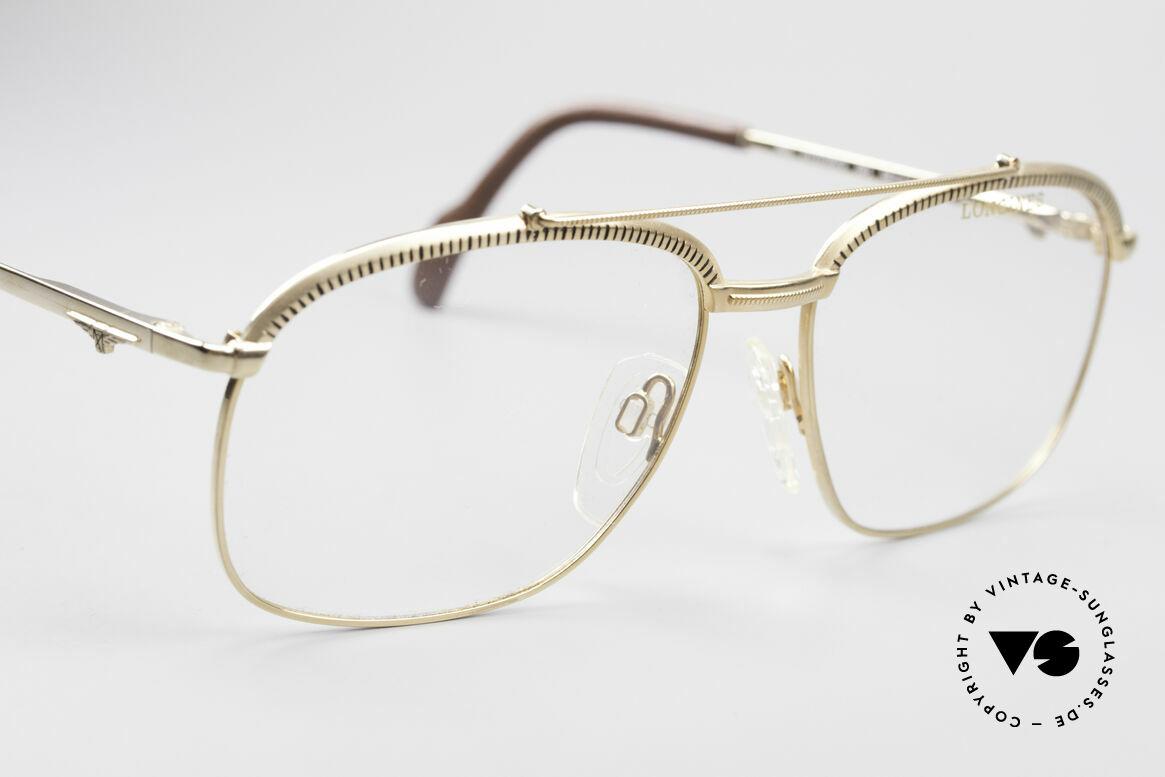 Longines 0172 80er Luxus Brillenfassung, ungetragen (wie alle unsere alten LONGINES Unikate), Passend für Herren