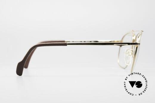 Longines 0172 80er Luxus Brillenfassung, die Demogläser können durch optische ersetzt werden, Passend für Herren