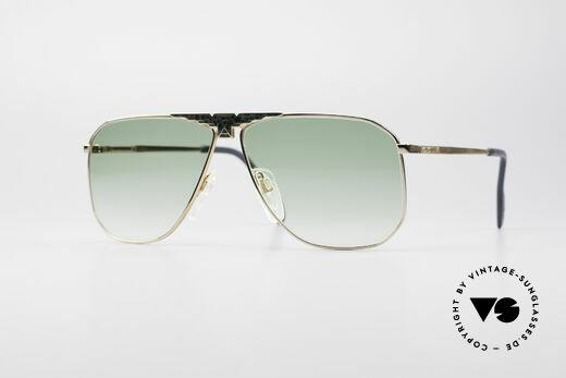 Longines 0155 80er Designer Sonnenbrille Details