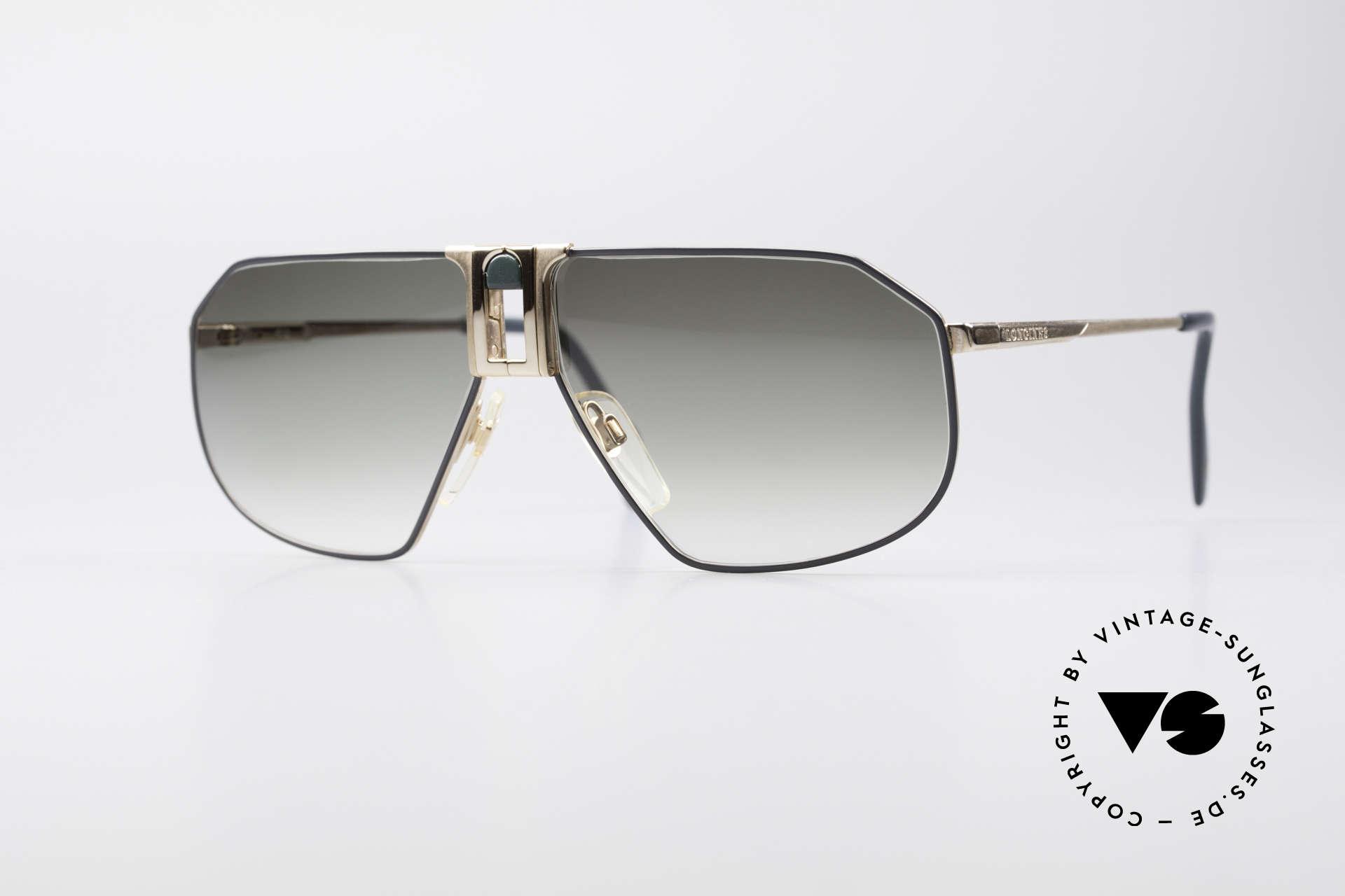 Longines 0153 No Retro Vintage Herrenbrille, hochwertige vintage Sonnenbrille von LONGINES, Passend für Herren