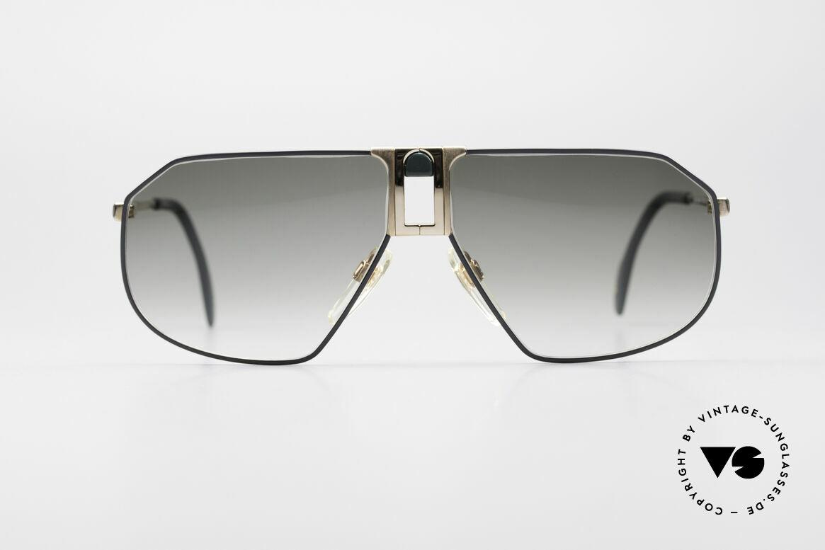 Longines 0153 No Retro Vintage Herrenbrille, sehr edler Rahmen mit flexiblen Federscharnieren, Passend für Herren