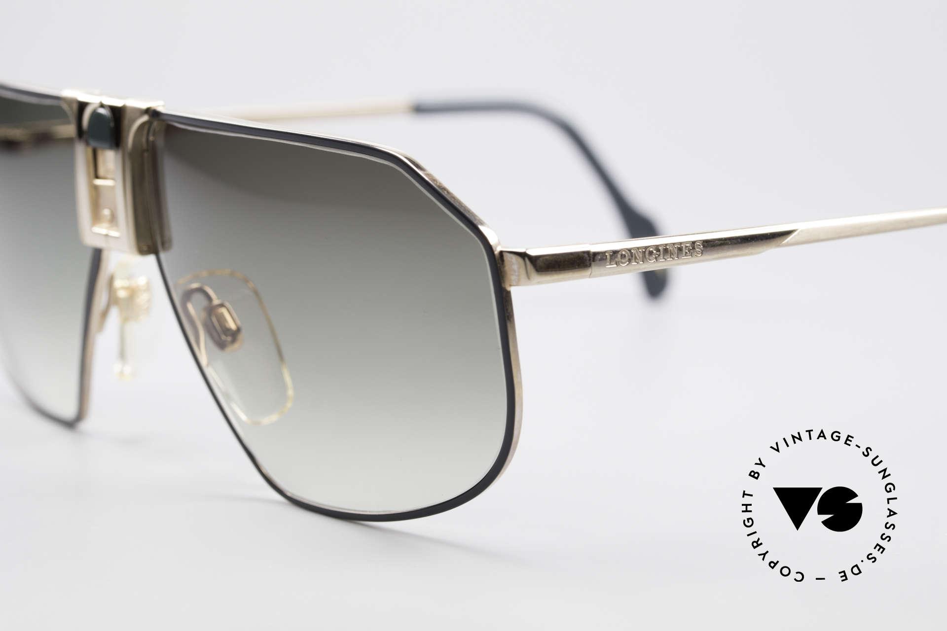 Longines 0153 No Retro Vintage Herrenbrille, Premium-Qualität und markant (mal 'was anderes'), Passend für Herren