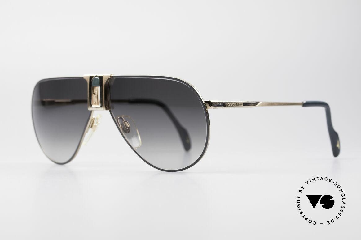 Longines 0154 80er Aviator Sonnenbrille, vintage Luxusbrille for Gentlemen; purer Lifestyle!, Passend für Herren