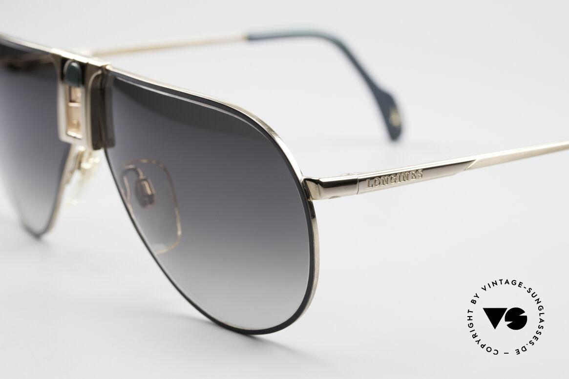 Longines 0154 80er Aviator Sonnenbrille, ungetragen (wie alle unsere vintage Sonnenbrillen), Passend für Herren