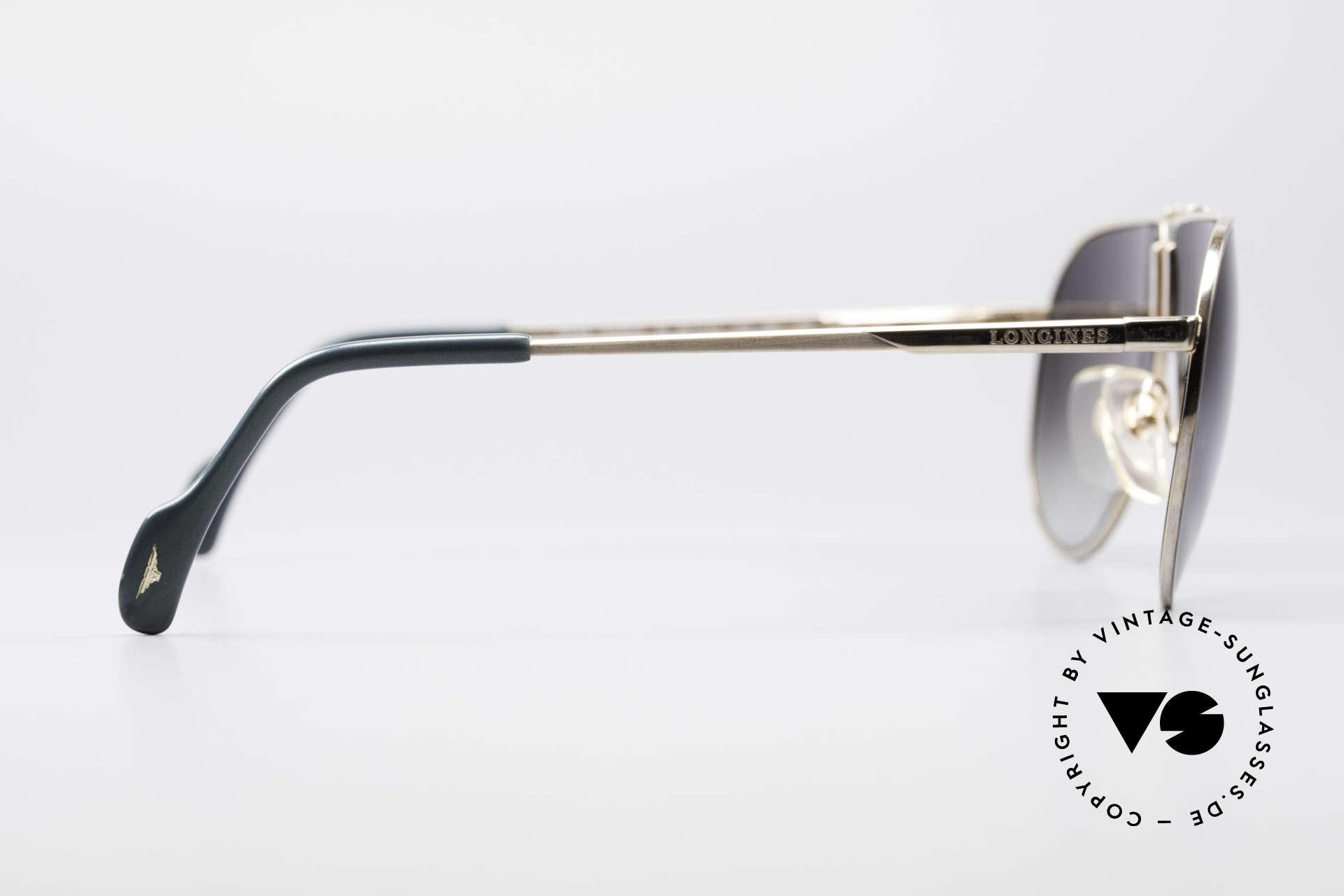 Longines 0154 80er Aviator Sonnenbrille, KEINE RETROMODE, sondern ein 1980er ORIGINAL, Passend für Herren