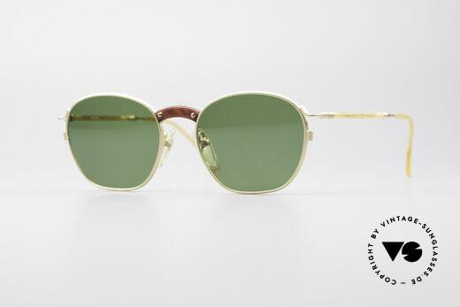 Jean Paul Gaultier 55-1271 Vergoldete JPG Sonnenbrille Details