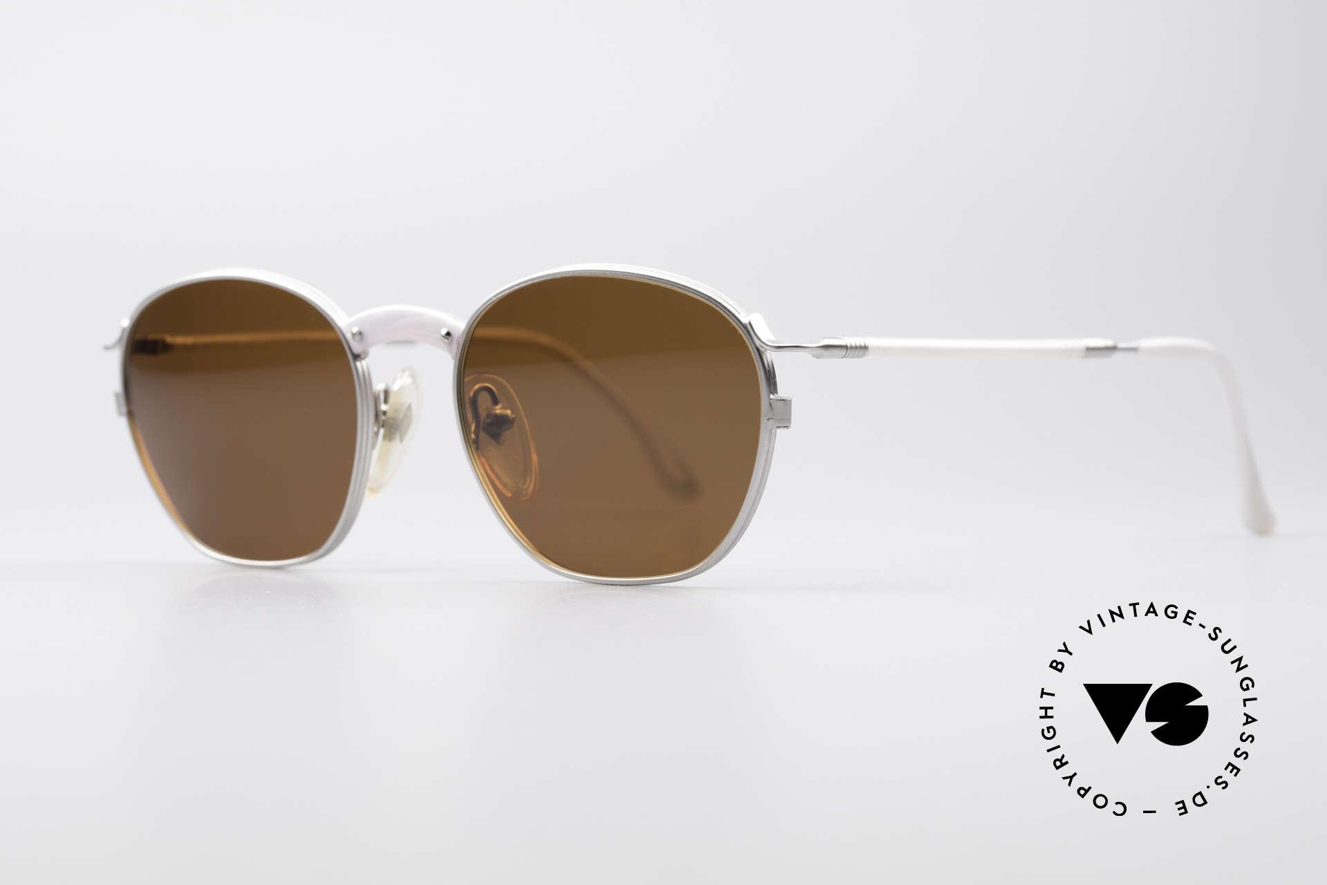 Jean Paul Gaultier 55-1271 JPG Vintage Sonnenbrille, zeitlos elegant in Farbe und Form und in Top-Qualität, Passend für Herren und Damen