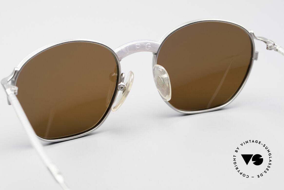 Jean Paul Gaultier 55-1271 JPG Vintage Sonnenbrille, KEINE Retrosonnenbrille; ein 25 Jahre altes ORIGINAL, Passend für Herren und Damen