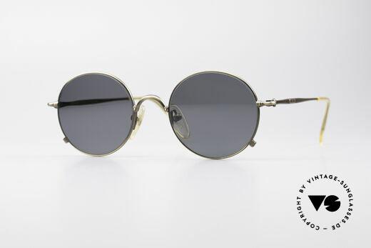 Jean Paul Gaultier 55-1176 Runde Polarisierende Brille Details