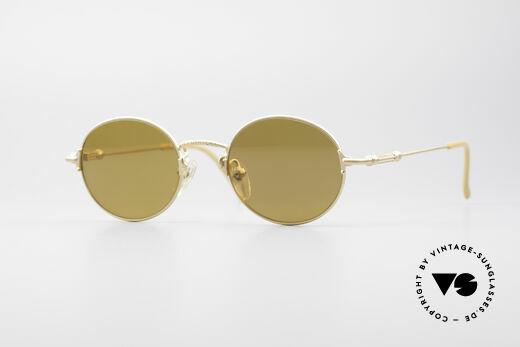 Jean Paul Gaultier 55-6109 Vergoldete Brille Polarisierend Details