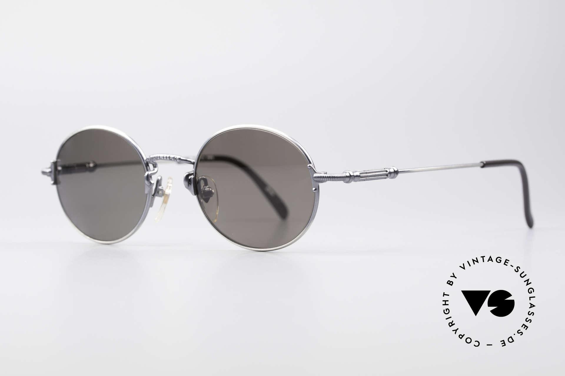Jean Paul Gaultier 55-6109 Kleine Brille Polarisierend, hochwertige Sonnengläser: POLARISIEREND; 100% UV, Passend für Herren und Damen