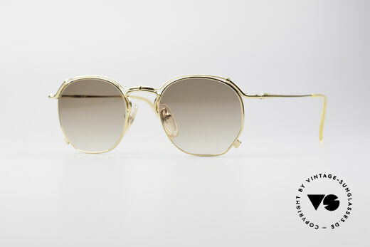 Jean Paul Gaultier 55-2171 Vergoldete Designerbrille Details