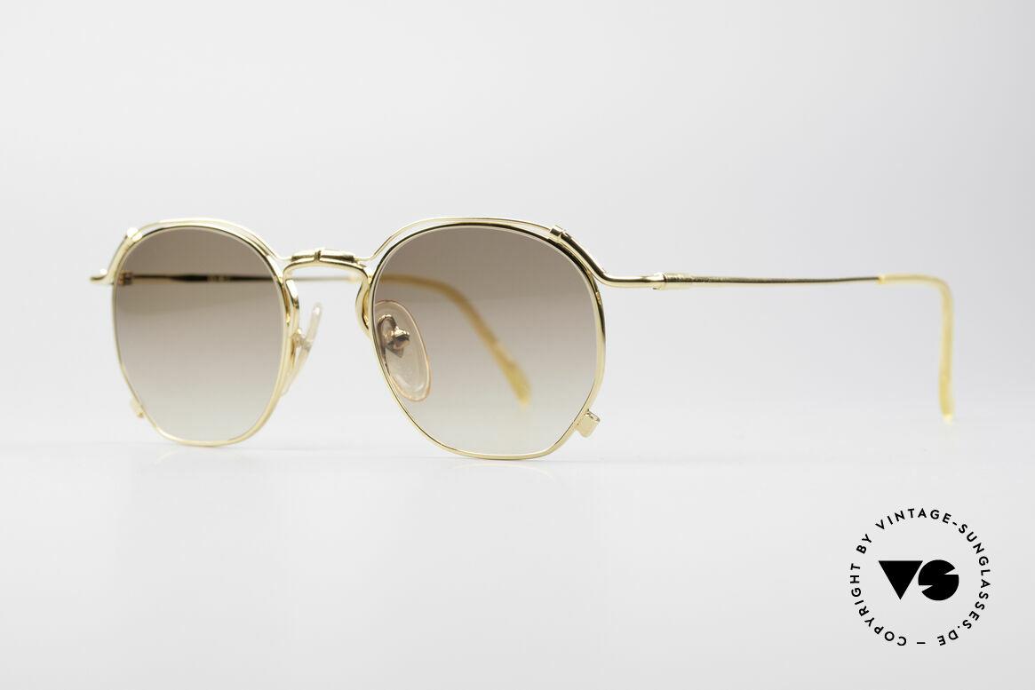 Jean Paul Gaultier 55-2171 Vergoldete Designerbrille