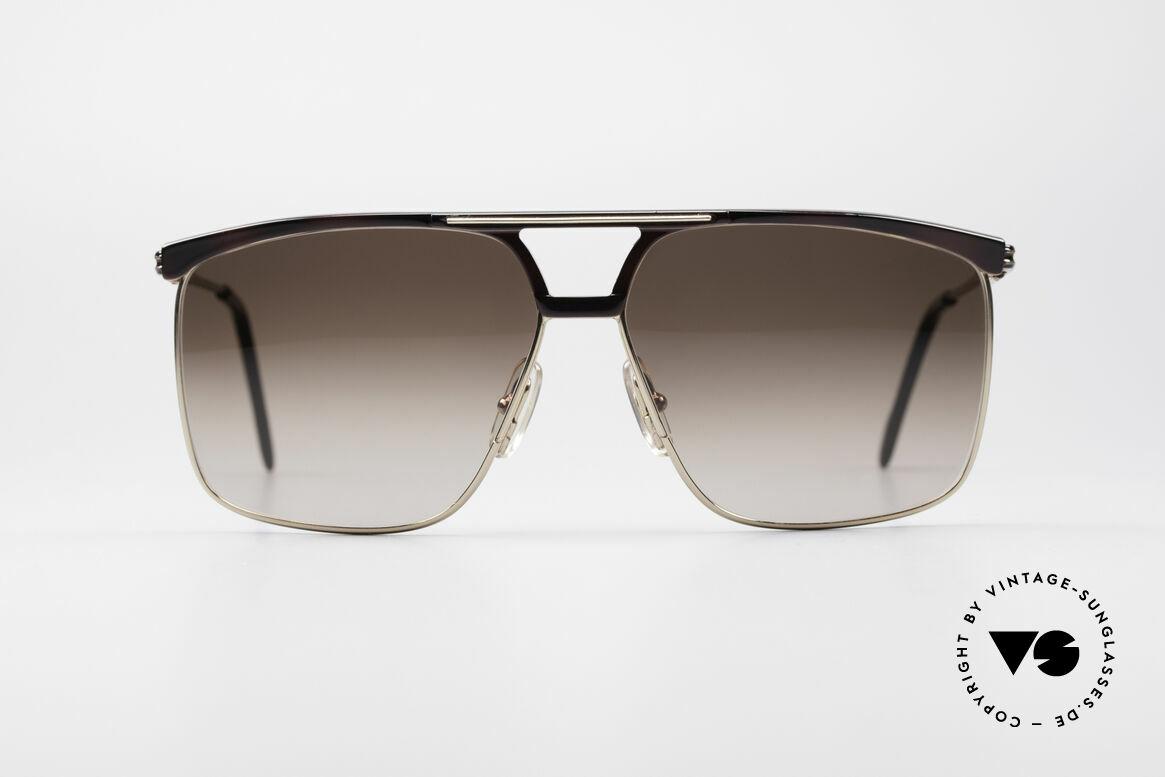 Ferrari F35 Alutanium 80er Sonnenbrille, markantes Design; Top-Qualität & edle Lackierung, Passend für Herren