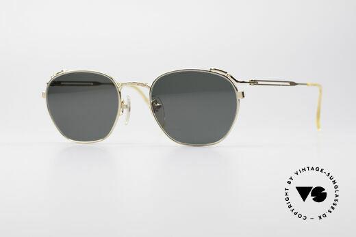 Jean Paul Gaultier 55-3173 Gold-Plated Sonnenbrille Details