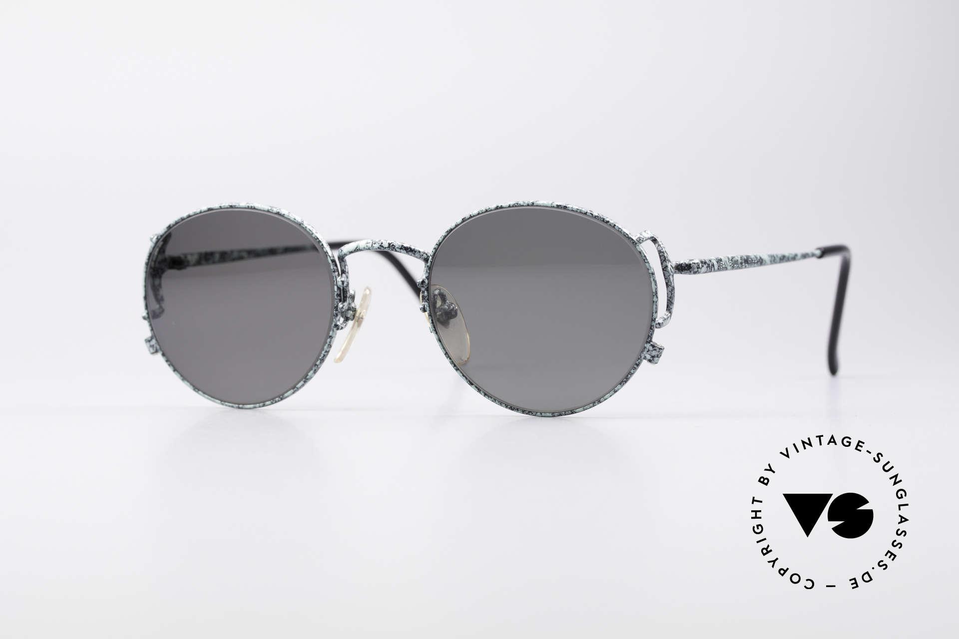 Jean Paul Gaultier 55-3178 Polarisierende Sonnenbrille, edle Jean Paul Gaultier 90er Jahre Sonnenbrille, Passend für Herren und Damen