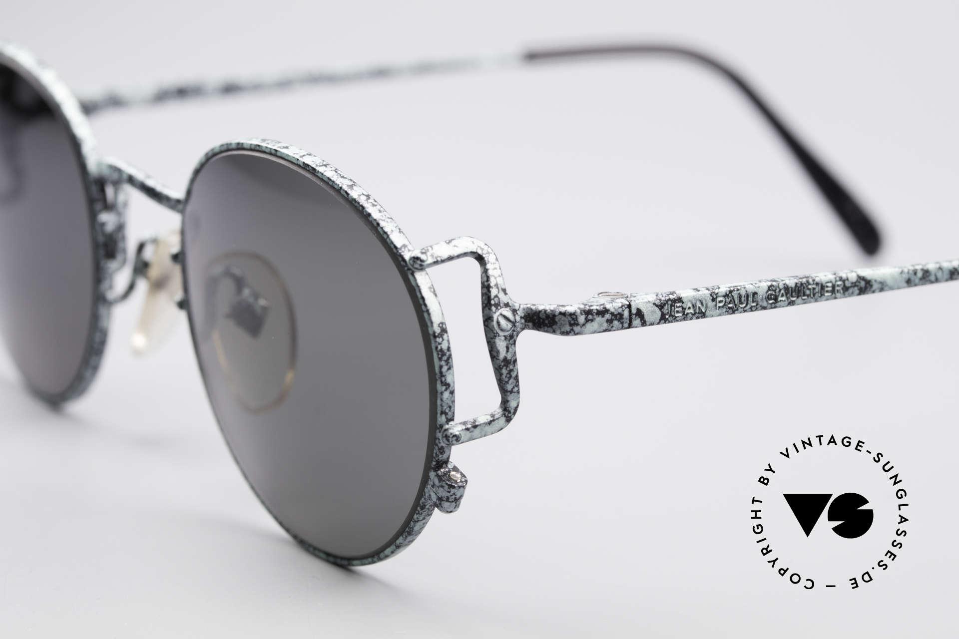 Jean Paul Gaultier 55-3178 Polarisierende Sonnenbrille, ungetragen (wie all unsere J.P.G. Sonnenbrillen), Passend für Herren und Damen