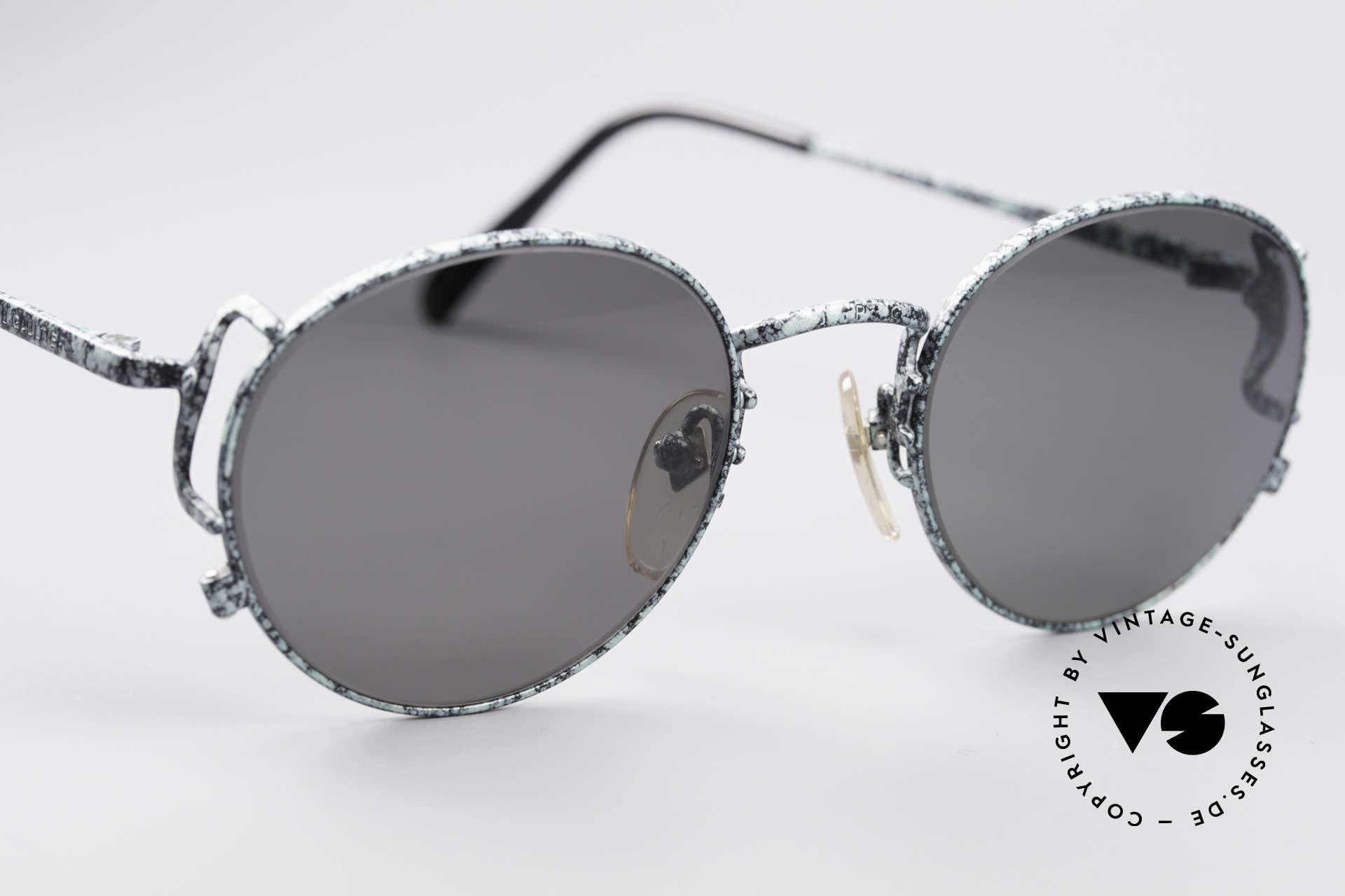 Jean Paul Gaultier 55-3178 Polarisierende Sonnenbrille, KEINE Retrobrille; ein ca. 25 Jahre altes Unikat!, Passend für Herren und Damen