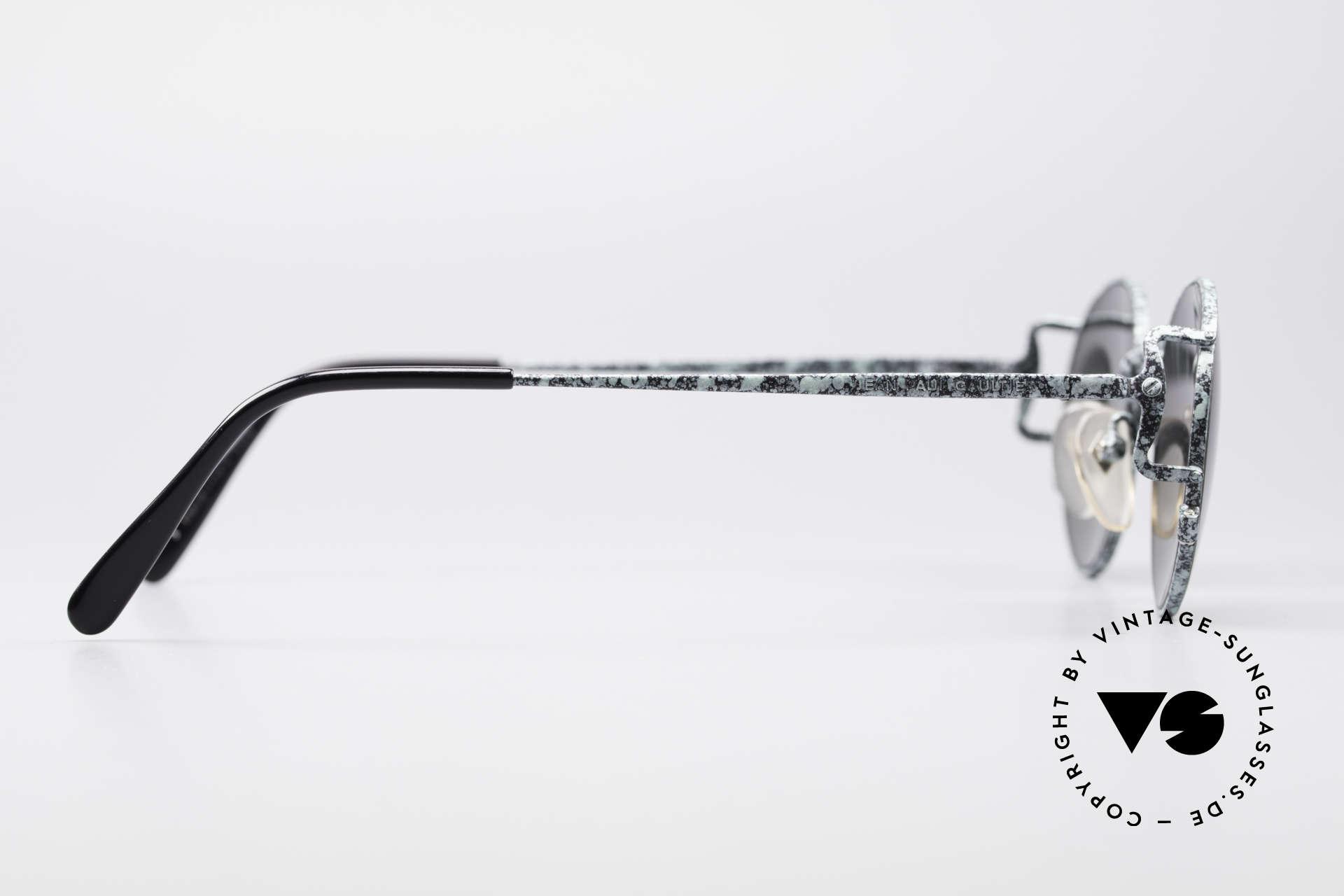 Jean Paul Gaultier 55-3178 Polarisierende Sonnenbrille, die Fassung ist auch für optische Gläser geeignet, Passend für Herren und Damen