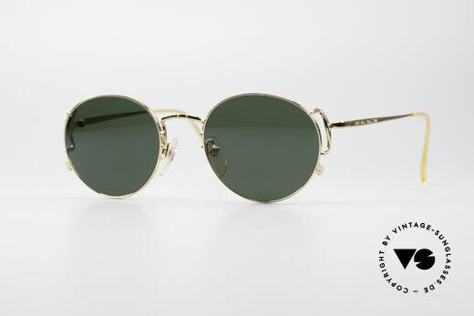 Jean Paul Gaultier 55-3178 Vergoldete JPG Sonnenbrille Details