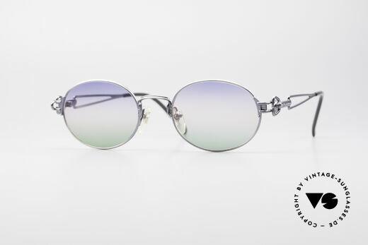 Jean Paul Gaultier 55-6112 Ovale Designer Sonnenbrille Details