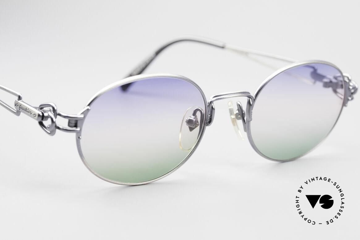 Jean Paul Gaultier 55-6112 Ovale Designer Sonnenbrille