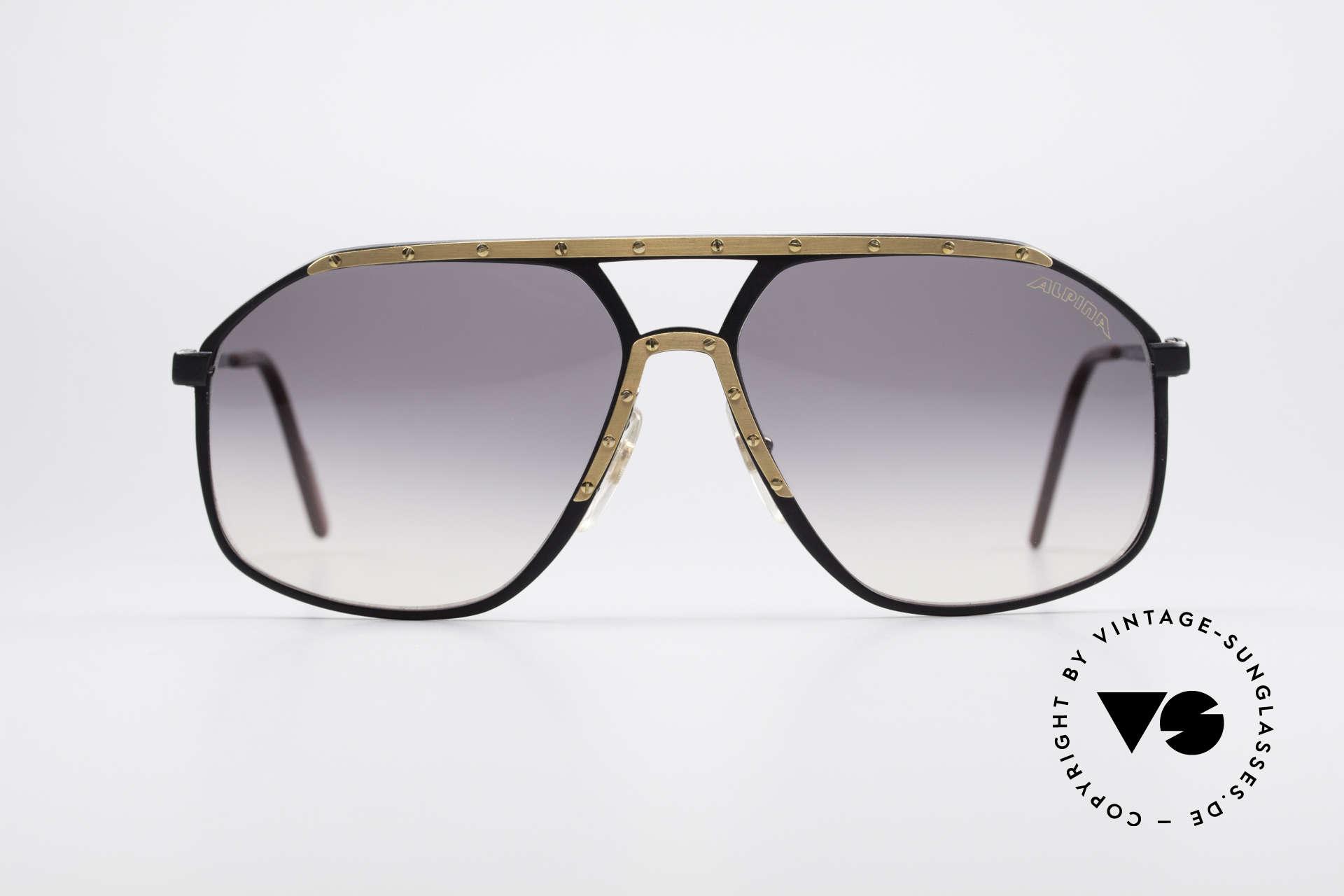 Alpina M1/7 Echte Vintage Sonnenbrille, kostbares ORIGINAL aus den späten 80ern; frühe 90er, Passend für Herren