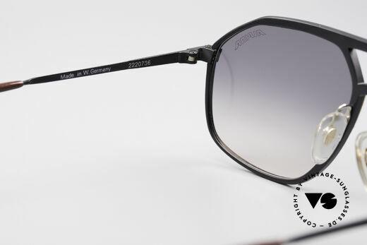 Alpina M1/7 Echte Vintage Sonnenbrille, KEINE RETRO-Brille; alte Rarität mit Montblanc Etui, Passend für Herren