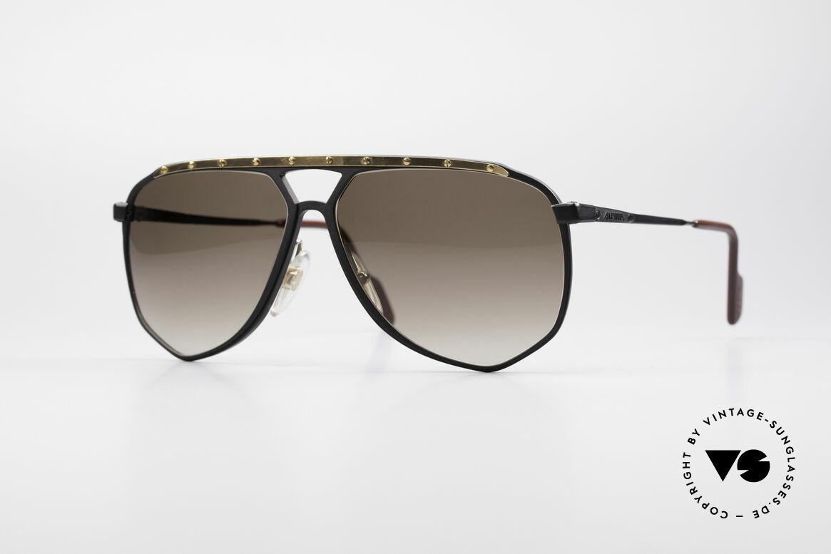 Alpina M1/4 Rare Vintage Sonnenbrille, M1/4 die Modifikation der legendären ALPINA M1, Passend für Herren